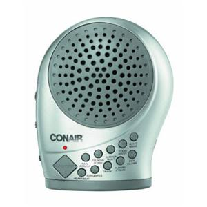 Conair SU12-3pk C Silver Sound Machine w Night