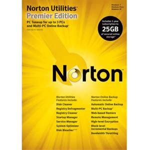Symantec Corporation 20096002 Symantec Norton Utilities v.14.5 Premier - Complete Product