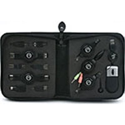 CYCLONE CP29013 ALL-IN-ONE SOLUTION THAT SECURES 2 PIECES OF EQUIPMENT (IE. DESKTOP & MONITOR OR