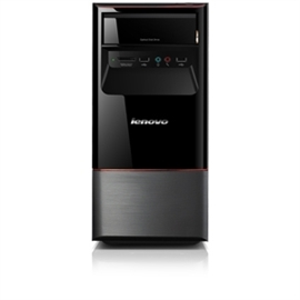 Lenovo Group Limited 77231NU Lenovo Essential H405 77231NU Desktop Computer Athlon II X2 260 3.2GHz - Tower - Glossy Black