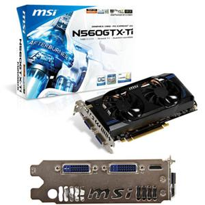 Micro-Star International Co., Ltd N560GTX-TIM2D1GD5/OC MSI N560GTX-TIM2D1GD5/OC GeForce GTX 560 Graphic Card - 1 GB GDDR5 SDRAM
