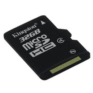 Kingston Technology Company SDC4/32GBSP Kingston SDC4/32GBSP 32 GB microSD High Capacity (microSDHC)