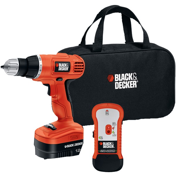 BLACK & DECKER GCO12SFB 12V CRDLS DRILL W/BAG STD