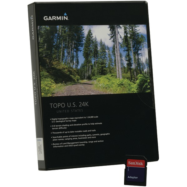 Garmin, Ltd 010-C0948-00 Garmin TOPO U.S. 24K - Northwest Digital Map