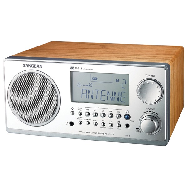 Sangean America, Inc WR-2WL Sangean WR-2 Digital AM/FM Table Top Radio