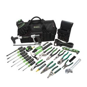 Greenlee Textron, Inc 0159-11 Greenlee 0159-11 28-Piece Master Electricians Tool Kit