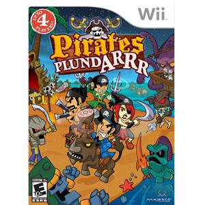 Majesco 01644 Pirates Plundarrr Wii