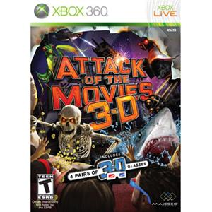 Majesco 01673 Attack of the Movies 3D X360