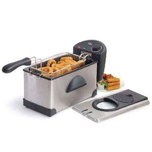 Maxi Matic USA EDF-3507 3.5 Qt. SS Deep Fryer