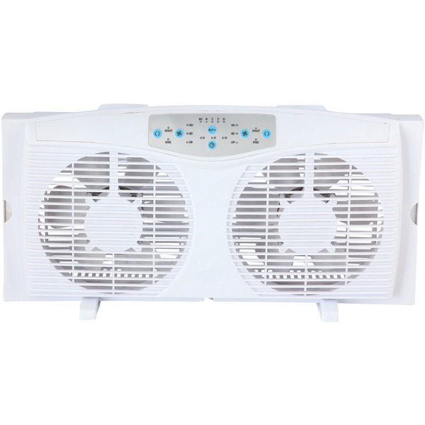OPTIMUS F-5286 8IN REVERSIBLE WINDOW FAN