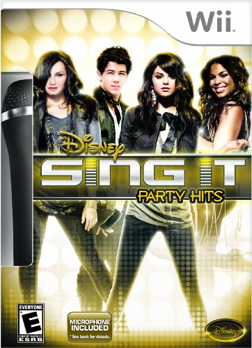 Disney Interactive 10512600 Disney Interactive Sing It: Party Hits Bundle - Complete Product