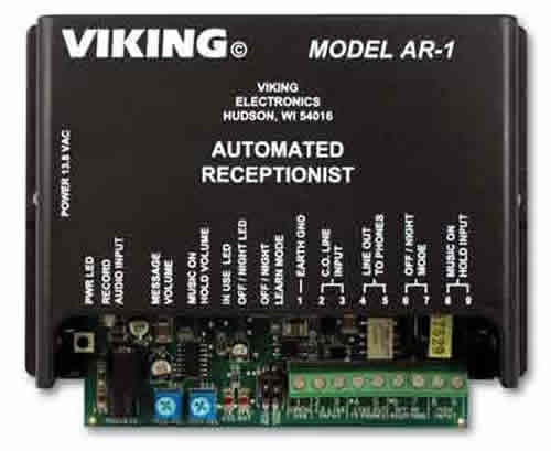Viking Electronics VK-AR-1 Single Line Automated Receptionist