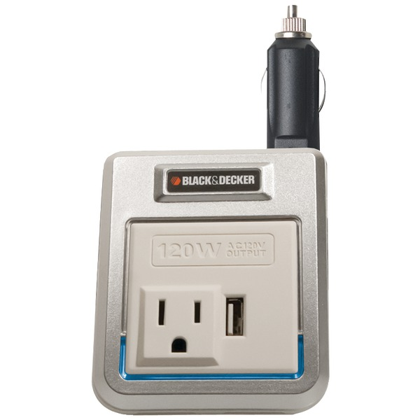 BLACK & DECKER PI120P 120W PWR INVERTER W/USB