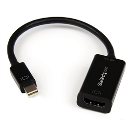 StarTech.com MDP2HD4KS StarTech.com Mini DisplayPort to HDMI 4K Audio / Video Converter - mDP 1.2 to HDMI Active Adapter for UltraBook / Laptop - 4K @ 30 Hz - Black