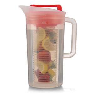 Epoca TSIRE-3630 Shake and Infuse Pitcher Red
