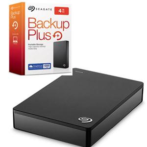 Seagate Retail STDR4000100 Backup Plus portable drive