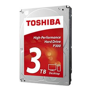 Toshiba Retail Hard Drives HDWD130XZSTA 3TB 3.5 INT HDD P300