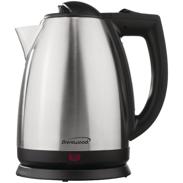 BRENTWOOD KT-1800 2L Cordless Water Kettle SS