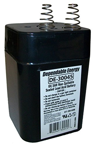 American Hunter GSM-DE-30045 6V 5A Spring Top Rechargable Battery