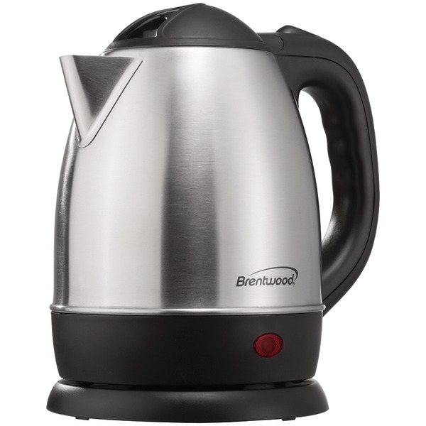 BRENTWOOD KT-1770 1.2L Cordless Water Kettle SS