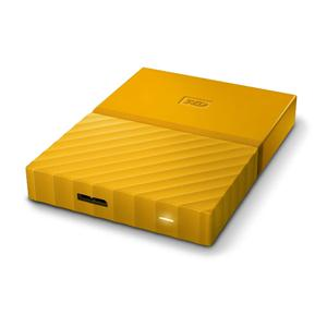 WD Content Solutions Business WDBYFT0040BYL-WESN 4TB My Passport Portable Yello