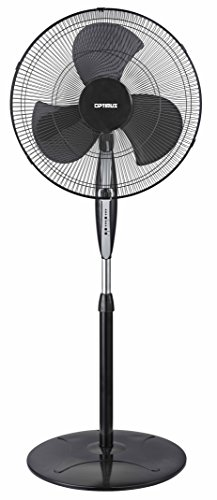 OPTIMUS F-1872BK 18IN STAND OSCIL FAN BLK