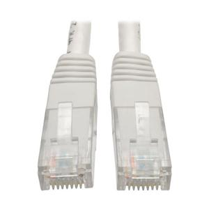 TRIPP LITE N200-007-WH 7FT CAT6 GIGABIT MOLDED PATCH CABLE RJ45 M/M 550MHZ 24 AWG WHITE