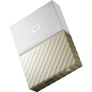WD Content Solutions Business WDBFKT0030BGD-WESN 3TB My Passport Ultra Wht Gld