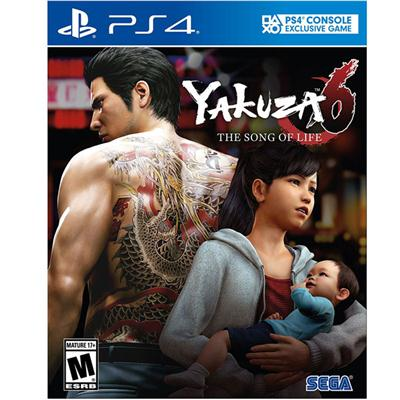 Sega YK-63221-7 Yakuza 6 SoL Stnd Edit PS4
