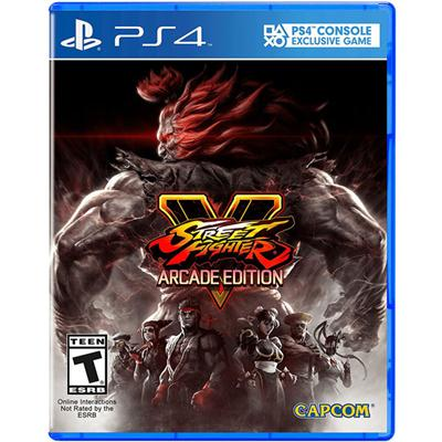 Capcom 56041 Street Fighter V Arcade PS4