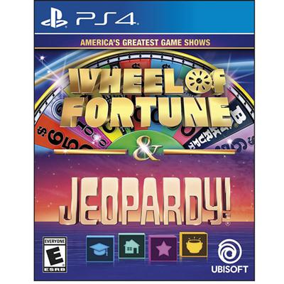 Ubisoft UBP30502122 Wheel of Fortune Jeopardy PS4