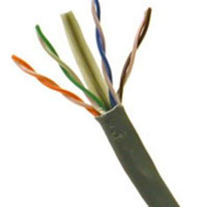 C2G 43091 CABLES TO GO 1000FT CAT6 SOLID PLENUM RATED CBL GREY