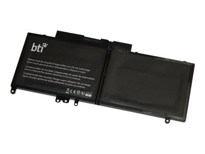 BATTERY TECHNOLOGY DL-E5550 REPLACEMENT LIPOLY BATTERY FOR DELL LATITUDE E5250 E5450 E5550 3550 SERIES REPLA