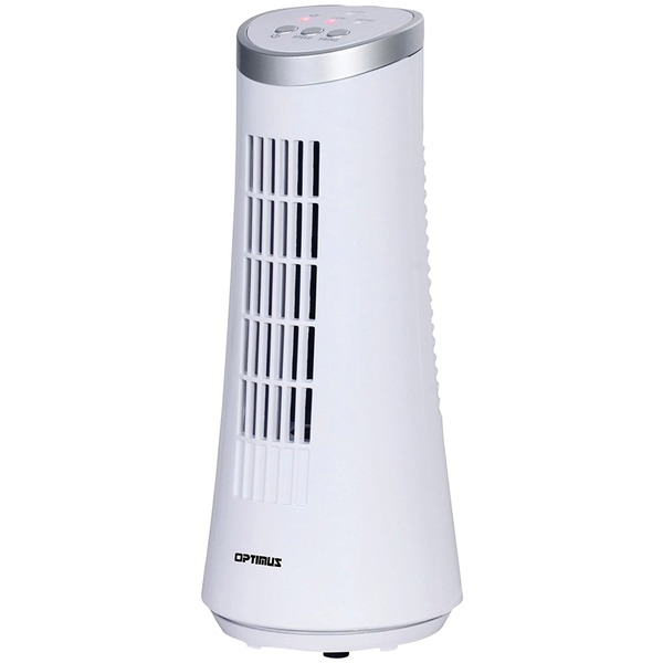 OPTIMUS F-7345WH 12IN SLIM TOWER FAN WHT
