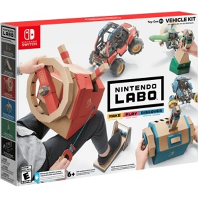 Nintendo HACRADFWA LaboToy Con 03  Vhcle Kit