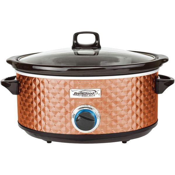 BRENTWOOD SC-157C BS Slow Cooker Quilted 7qt Cpr