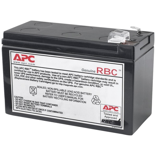 American Power Conversion Corp APCRBC110 APC UPS Replacement Battery Cartridge #110