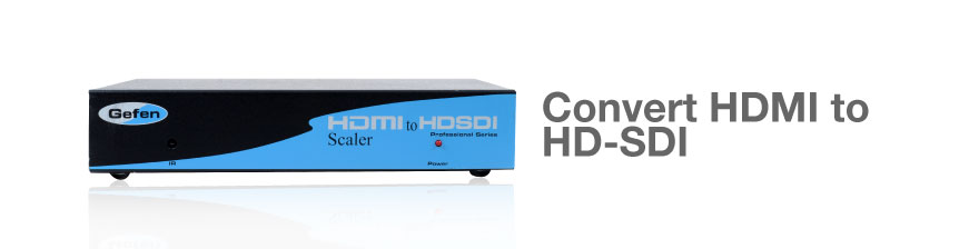 Gefen EXT-HDMI-2-HDSDIS HDMI to HD-SDI Scaler Box
