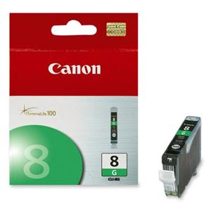 Canon, Inc 0627B002 Canon CLI-8 Green Ink Tank For PIXMA Pro 9000 Printer